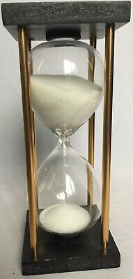 15-Minute Hourglass Sand Timer -White Sand-Like A New