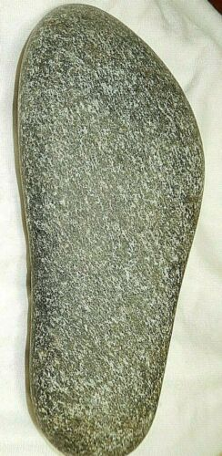 Prehistoric Stone age Rock Foot form for making foot ware