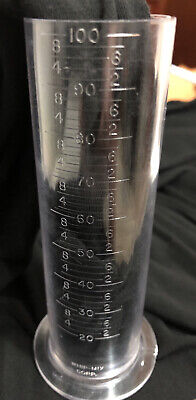 New Whipmix Plastic Graduated Measuring Cylinder 100ml