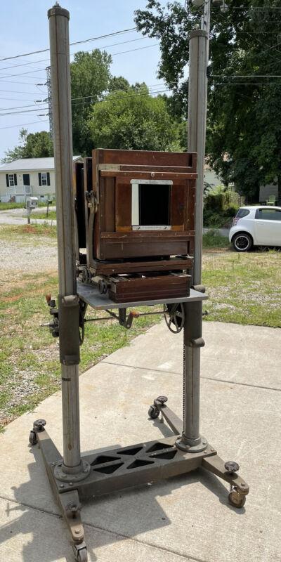 Deardorff 11x14 Studio view Camera. FULLY RESTORED With Original Deardorff Stand