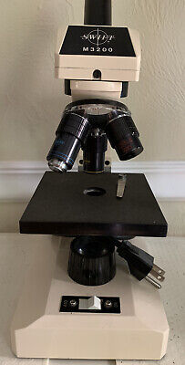 Swift M3200 Student Microscope Swift Instruments International S.a. Tested