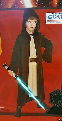 Jedi Robe Star Wars Costume Boys Rubies - Boy Star Wars Kostüme