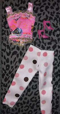 Dolls Clothes Bundle Outfit Jeans Bags Shoes Jewellery Accessories Brand New