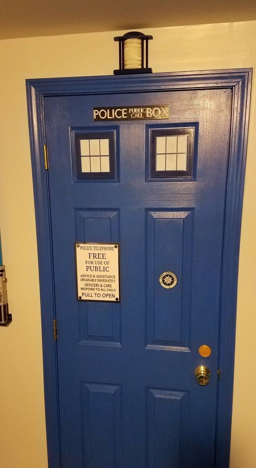 Tardis Door Kit (3d Printed Doctor Who)