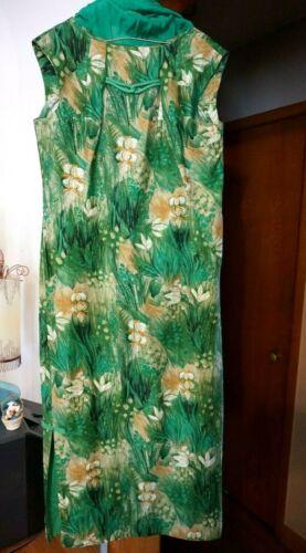 Vtg 1960s Hawaiian SURF by PACIFIC dress MuuMuu Mod Hip Island Cruise Tiki Wear