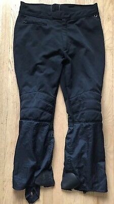 Activewear Roffe Santana Men Navy Ski Pants With Bibs And Suspenders Size 36 Made In Usa