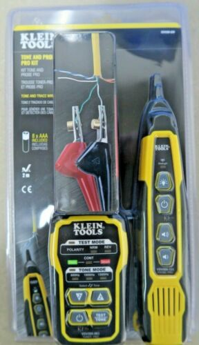 Klein Tools-VDV500-820 Cable Tracer with Probe Tone Kit - 092644692192 New