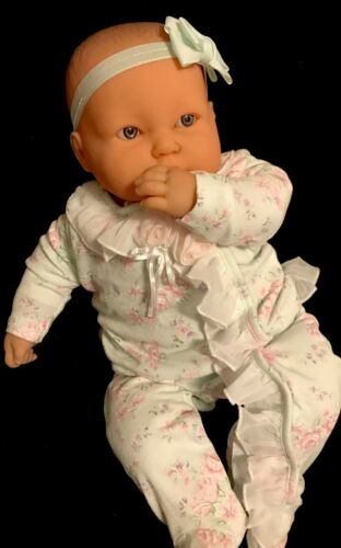 Berenguer Chubby Lots To Cuddle 20 Soft Body Baby Doll Side Eyes Thumbsucker - $39.00