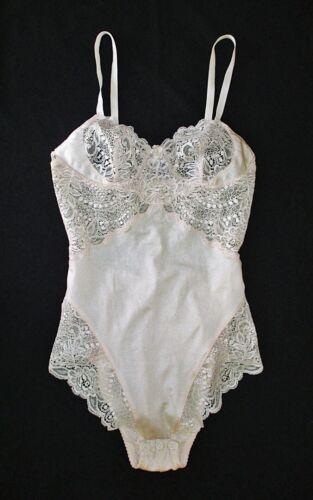 Vintage La Perla Lace Top Body Size 32 (S) Light Pink