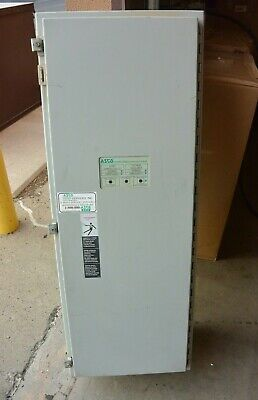 Asco Series 300 Automatic Transfer Switch A300322591xc 225 Amp 480y277v 3 Phase