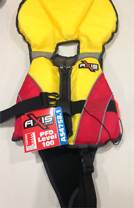 Child's XS PFD Axis Lifejacket SOLD PENDING PU
