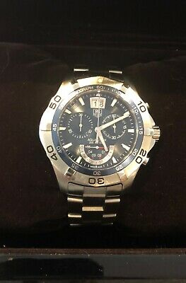 TAG Heuer Aquaracer Grande Date CAF101C.RWY6657 Wrist Watch for Men Blue