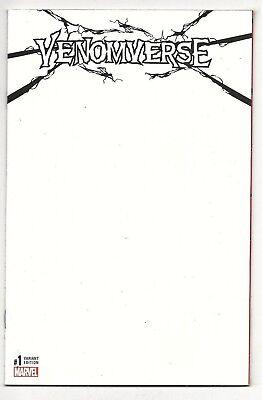 Blank VENOMVERSE #1 Sketch Variant VF/NM Marvel AMAZING SPIDER-MAN TOM HARDY