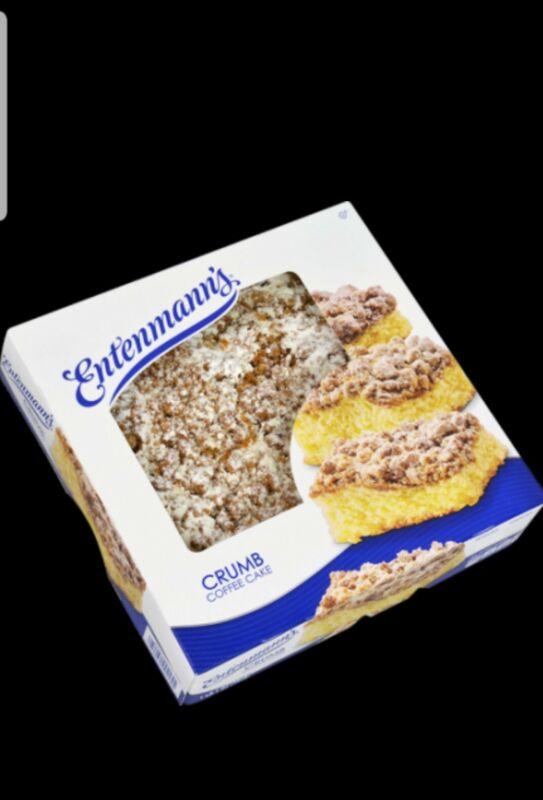 BUY 2 GET 1 FREE Entenmanns Crumb Cake