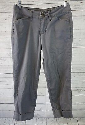 Used, Jag Womens Cropped Pants Sz 4 Slim Fit Gray Casual for sale  Shipping to Canada