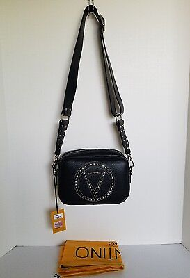 Valentino by Mario Valentino Mia Studded Leather Crossbody Bag - NWT