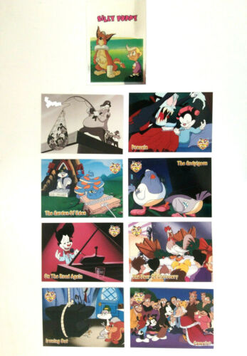VINTAGE 1995 ANIMANIACS TOPPS Trading Cards, FOIL Sticker - Warner Bros. - RARE!