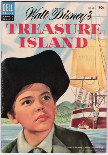 Four Color # 624 (Treasure Island) 1955 VF