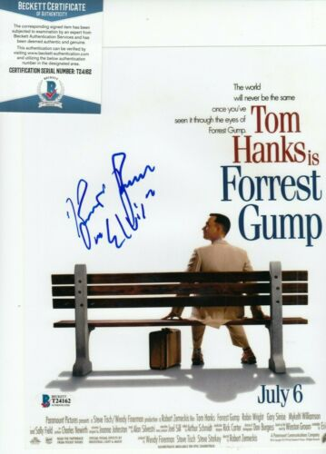 KURT RUSSELL signed (FORREST GUMP) autographed *Elvis* 8X10 photo BAS BECKETT