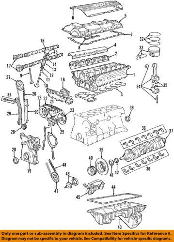 BMW OEM 03-06 325Ci-Engine Valve Cover 11127512839 | eBayeBay