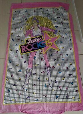 Retro 80s Barbie Rockers Doona Quilt Cover Single Vintage Disco 1986 mattle