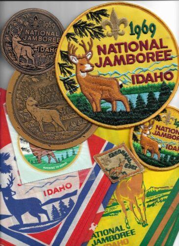 1969 National Jamboree set 8 pieces