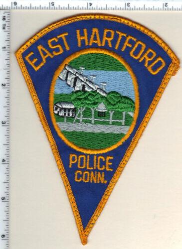 East Hartford Police (Connecticut) Uniform Take-Off Shoulder Patch from 1989
