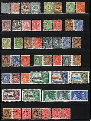 Turks & Caicos 1900-1937 Mint-Used Selection With Better CV$175