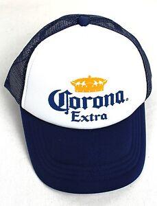 CORONA TRUCKERS CAP MERCHANDISE BEER GEAR UNISEX BLUE HAT NEW GREAT QUALITY