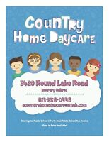 COUNTRY HOME DAYCARE