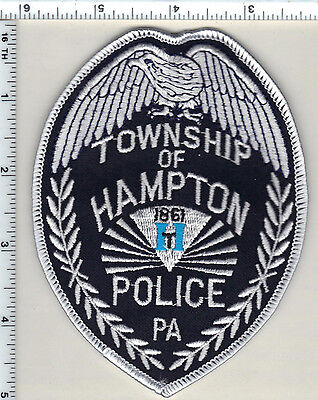 Hampton Township Police (Pennsylvania) Shoulder Patch from 1991