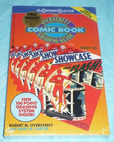 NM Overstreet Comic Book Grading Guide with Grading Card included, still sealed