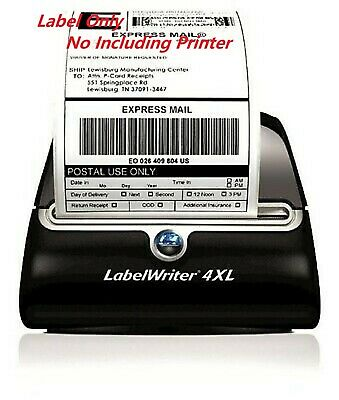 1 Rolls 4x6 Thermal Shipping Label 220 Per Roll Labels Fit Dymo 4xl 1744907 Usps