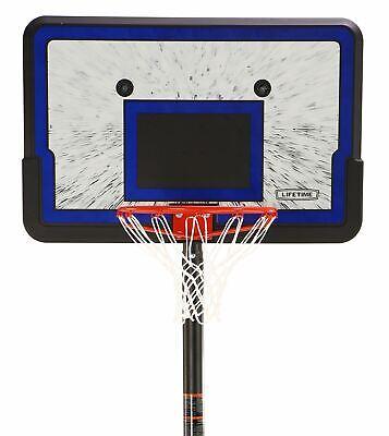 Basketball Goal Hoop Backboard System Portable Adjustable Height 44