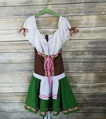 Halloween Costumes Tavern Wench (Leg Avenue Halloween Oktoberfest Bavarian Gretchen Tavern Wench Roleplay)
