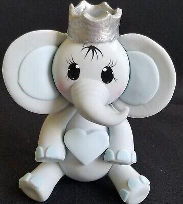 Royal Prince Baby Shower Cake (Prince Baby Elephant Boy Royal Baby Shower & Birthday Cake Topper Elephant Boy)