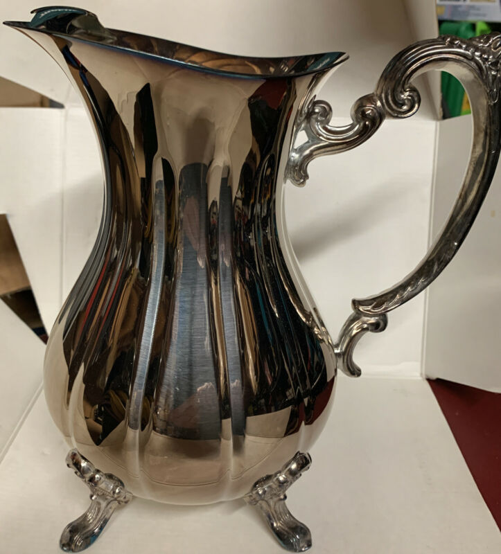 Vintage - Sheffield Silver Water Pitcher #8506