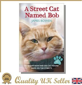 A Street Cat Named Bob by James Bowen (Paperback) *BRAND NEW*