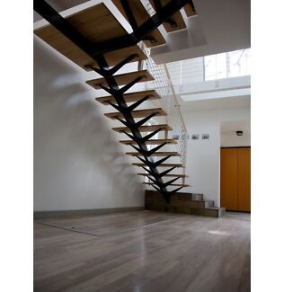 Modern design  stair cases,  mono Stairs, floating stairs Burleigh Heads Gold Coast South Preview