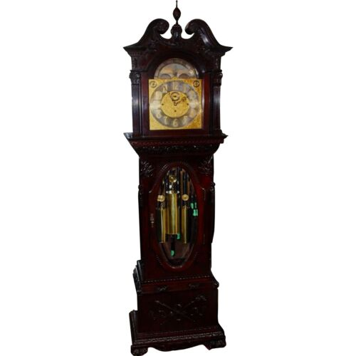 19th Century Tiffany & Co. Weight Driven Grandfather Clock, Completely Restored