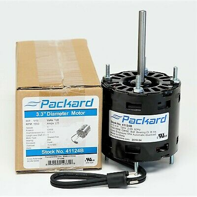 Packard 41124b Refrigeration Cooler Evaporator Motor For Bohn 5008ss Fasco D1124