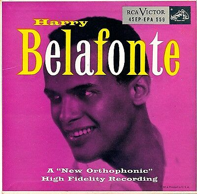 Harry Belafonte   1954 Rca Victor Epa 559 With E Picture Sleeve