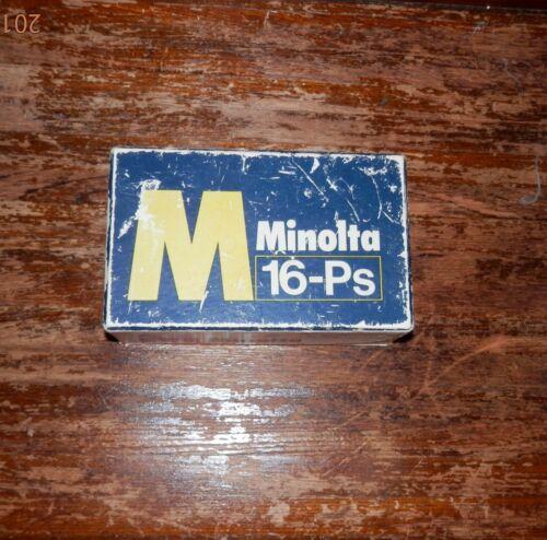 MINOLTA 16-Ps Miniature Spy Camera