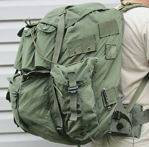 LARGE ALICE FIELD PACK MILITARY BUG OUT BAG COMPLETE SURVIVAL EXCELLENT COND