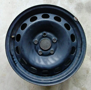 VW OEM 4x steel wheels 5x112 bolt-pattern ET50