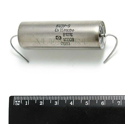 4pcs 0.15uf 015uf .15uf 1000v K40y-9 Pio Paper In Oil Capacitor Nos