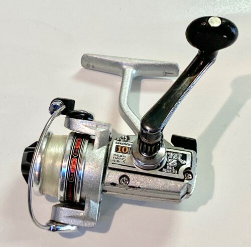 Vintage Shimano MLZ 10 Ultralight Spinning Reel. 4-6lb Line. Excellent Condition