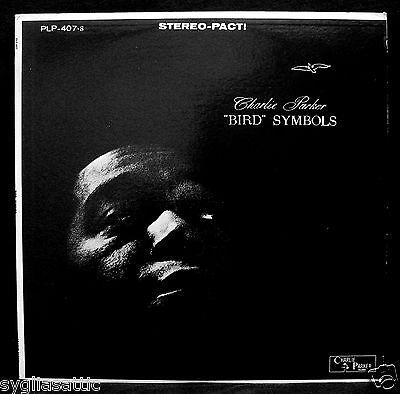 CHARLIE PARKER-BIRD SYMBOLS- Jazz Album-MILES DAVIS-PARKER #PLP-407s-stereo
