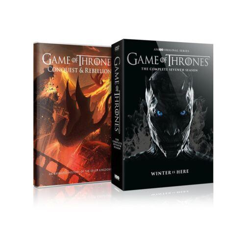 Game of Thrones Season 7 DVD ( 4 Discs) USA seller, Free shipping