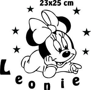 Minnie mouse wandtattoos g nstig online kaufen bei ebay - Wandtattoo minnie maus ...